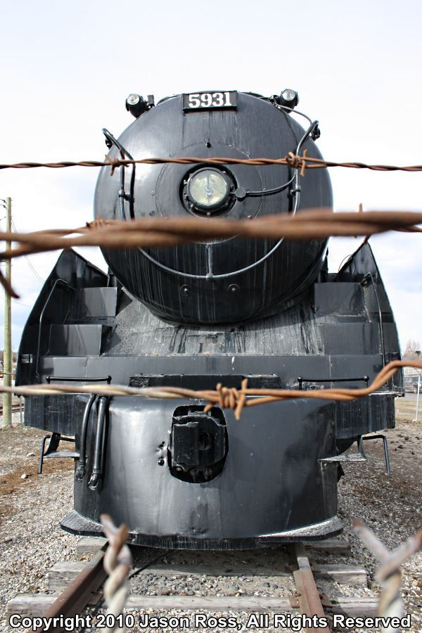 Analysis Paralysis - Canadian Pacific Selkirk Locomotive 5931 at Heritage Park Calgary, Stationary Since 1981.